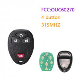 OUC60270 315MHZ 4 button GM...