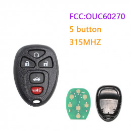 OUC60270 315MHZ 5 button GM...