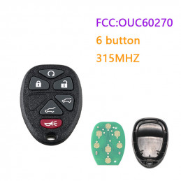 OUC60270 315MHZ 6 button GM...