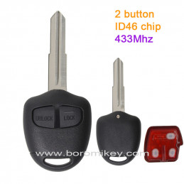 2 button 433MHZ  ID46 Right...