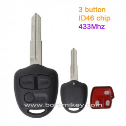 3 button 433MHZ  ID46 Left...