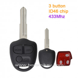 3 button 433MHZ  ID46 Right...