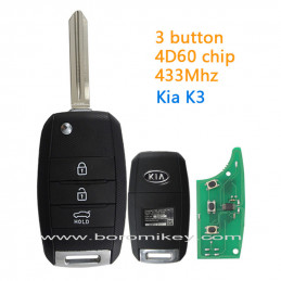 3 button 4D60 433Mhz Right...