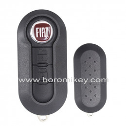 2 button with logo Fiat 500...