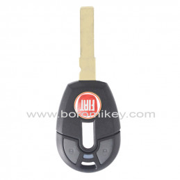 2 button with red logo Fiat...