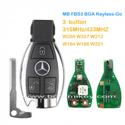 3  button Xhorse MB FBS3...
