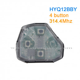 HYQ12BBY 4 button 314.4Mhz...