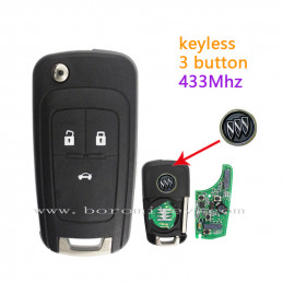 433Mhz Buick 3 button full...