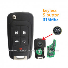 315Mhz Buick 5 button full...