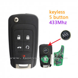 433Mhz Buick 5 button full...