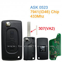 ASK 0523  2 button 433Mhz...